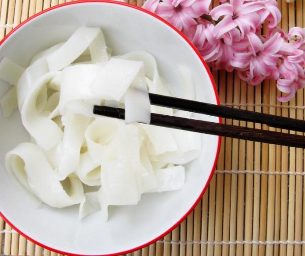 Cara Membuat Mie Tiaw Basah, Cara Membuat Mie Tiaw Mentah