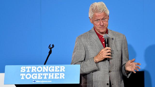 """Bill Clinton se corrige para no reconocer que Hillary se desmaya """"frecuentemente"""" y la TV lo censura"""