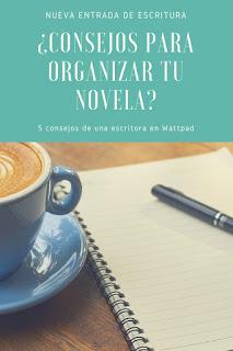 organización, novela, ser escritor, organizar la novela y la escritura