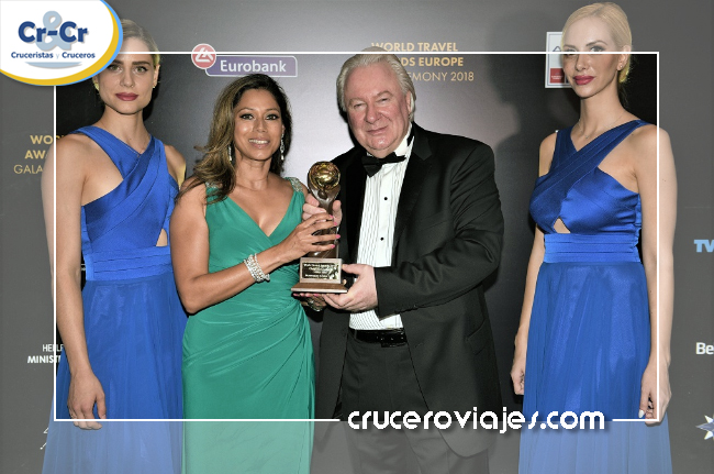 NORWEGIAN CRUISE LINE RECIBE EL MAYOR RECONOCIMIENTO DEL SECTOR DE LOS CRUCEROS EN LOS WORLD TRAVEL AWARDS EN ATENAS
