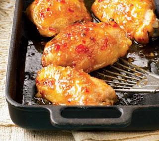 Sticky Chicken Thighs Recipe