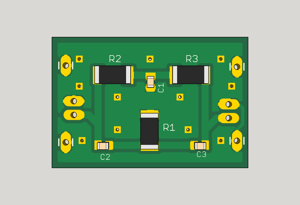 The Answer Is 42 How To Make A Twin T Notch Filter Troubleshoot This Bandstop Circuit Electrical Top Side Of Pcb