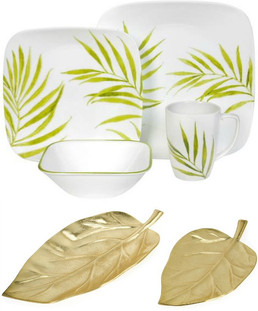Tropical Theme Table Decorations