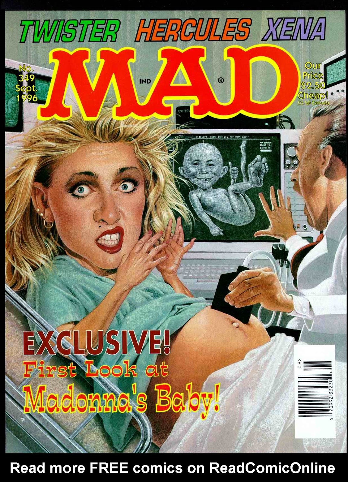 MAD issue 349 - Page 1
