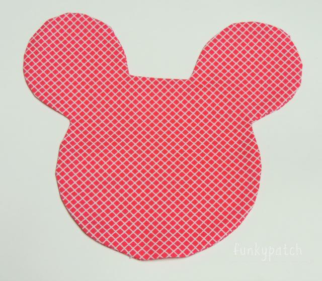 Mantelito individual con bolsillo con forma de Minnie