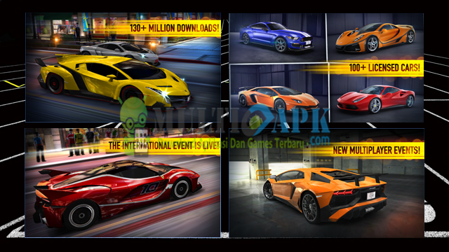 Game CSR Racing Terbaru Versi 3.6.0 Apk+Data Mod Android