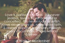 "It's all about ""Quotes""!: A walk to remember"