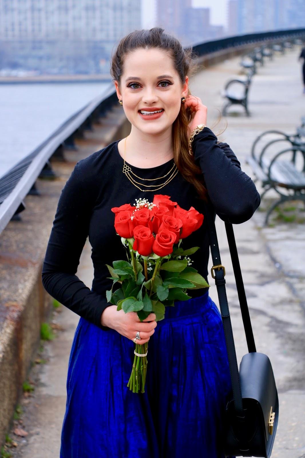 midi skirt fashion blogger