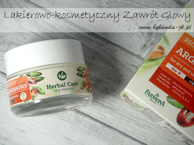 Farmona Herbal Care - odżywczy krem z olejem arganowym na dzień i na noc