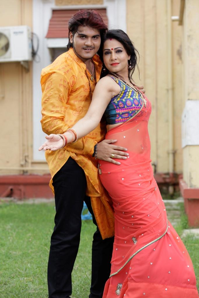 Kallu and Pakhi hegde song shoot