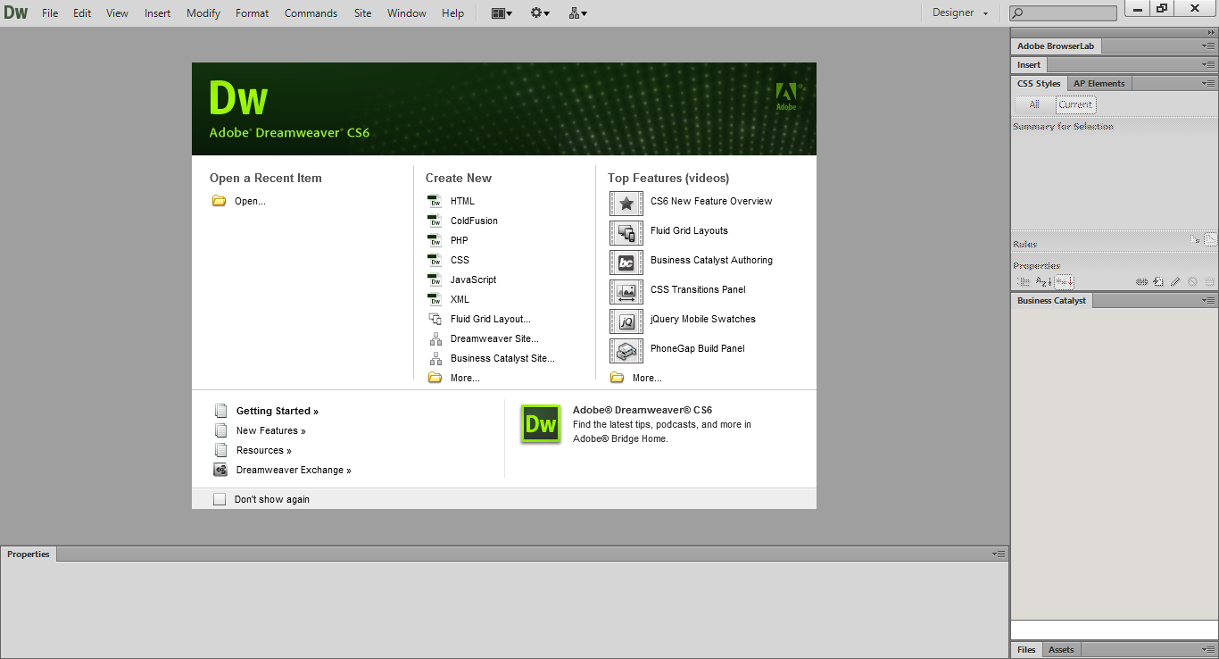 Download Adobe Dreamweaver CS6 Full Crack