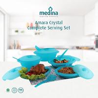 Dusdusan Amara Crystal Complete Serving Set (Set of 5) ANDHIMIND