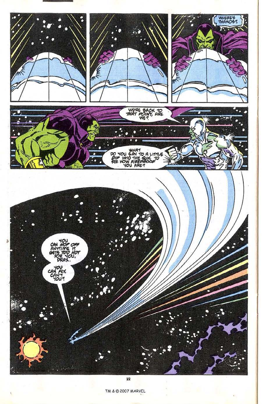 Read online Silver Surfer (1987) comic -  Issue #37 - 24