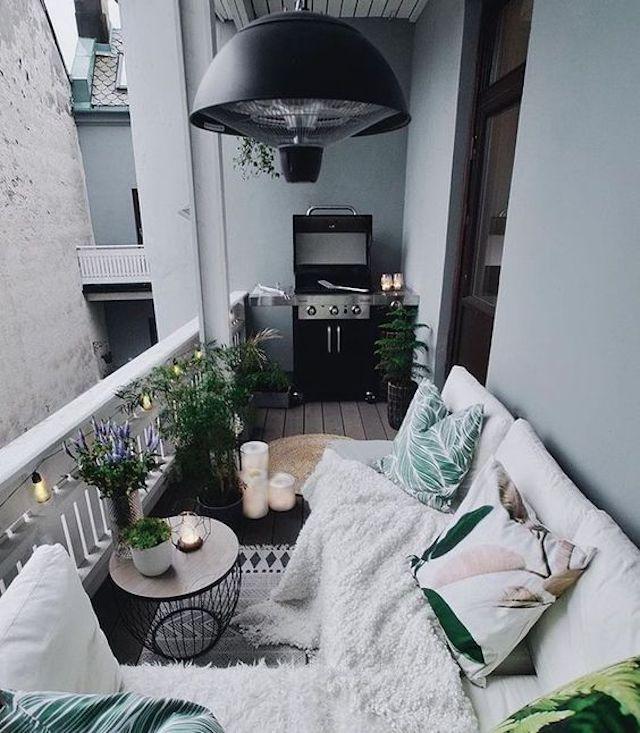 Ideas para decorar balcones pequeños en primavera y verano