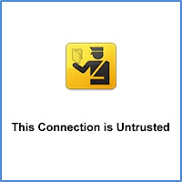 Untrusted Connection