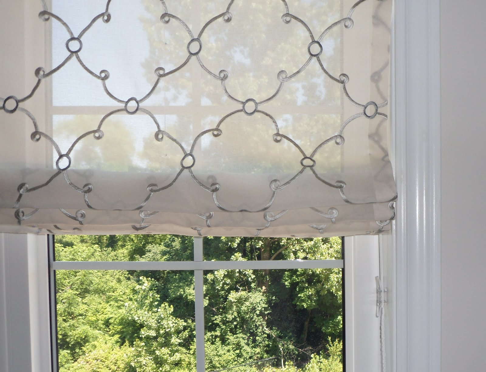 Sheer Roman Blind Blinds Center