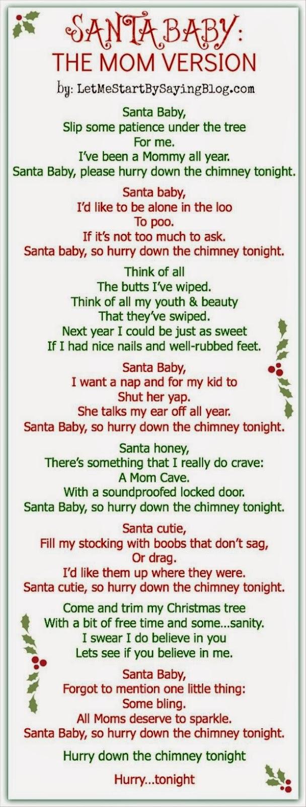 santa baby lyrics