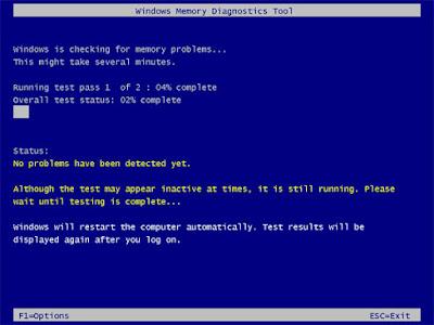 windows-memory-diagnostic-test