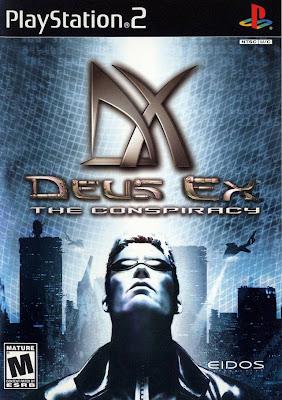 Deus Ex: The Conspiracy (PS2) 2002