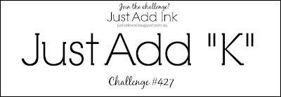 Jo's Stamping Spot - Just Add Ink Challenge #427
