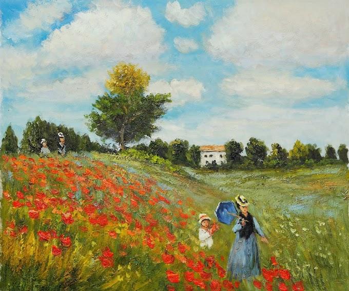 من هو الفنان الفرنسي كلود مونيه .. حياته أعمالة