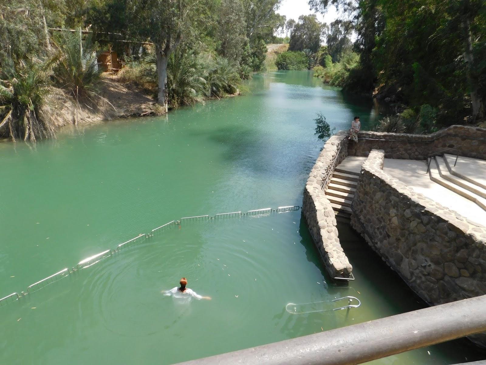 The Lord Reigneth: Yardenit Baptismal Site