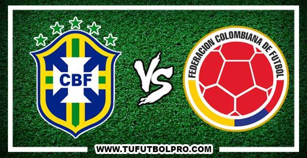 Ver Brasil vs Colombia EN VIVO Por Internet Hoy 25 de Enero 2017