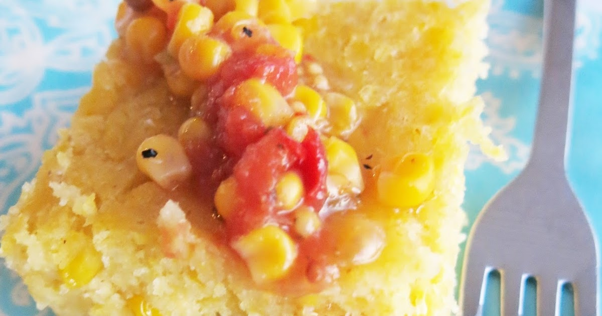 Sweet Tamale Corn Cakes Baked