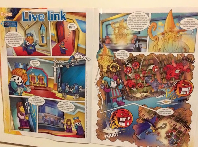 LEGO® NEXO KNIGHTS™ magazine comic strip