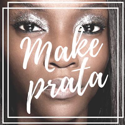 Capa: inspiração maquiagem prata na pele negra