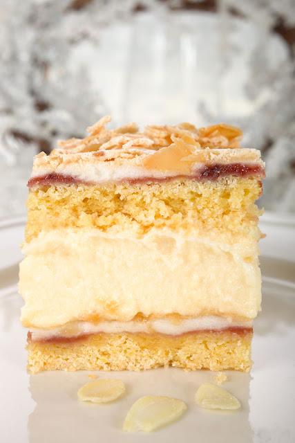 Frau Walewska- cremiger Kuchen