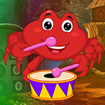 Games4King Red Crab Escap…