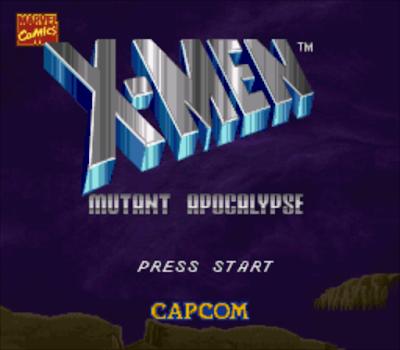 【SFC】X戰警:變種末世錄(X-Men),經典ACT動作過關遊戲!