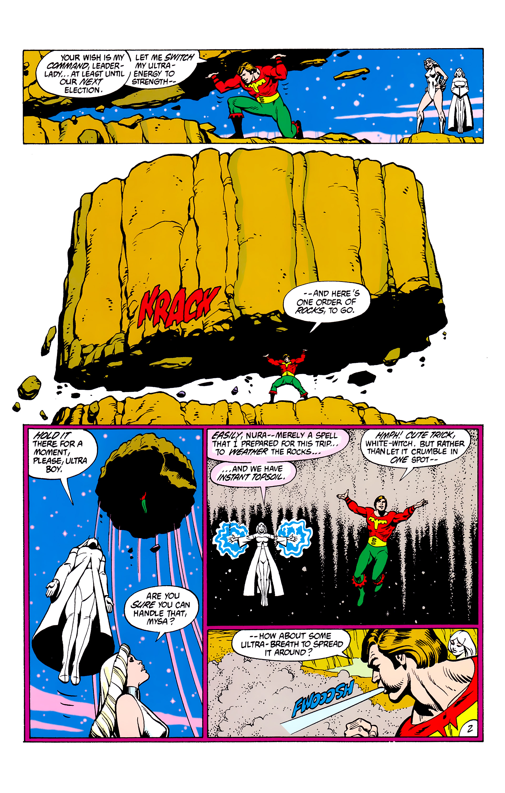 Legion of Super-Heroes (1980) _Annual_2 Page 2