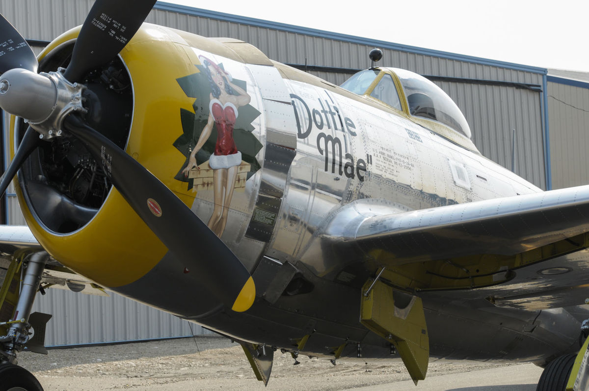 Kathryn's Report: WW II aircraft restored in Caldwell, Idaho