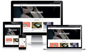 View Responsive Grid Blogger Template