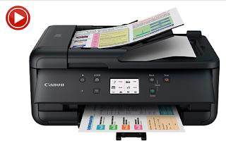 Canon TR7520 Printer drivers