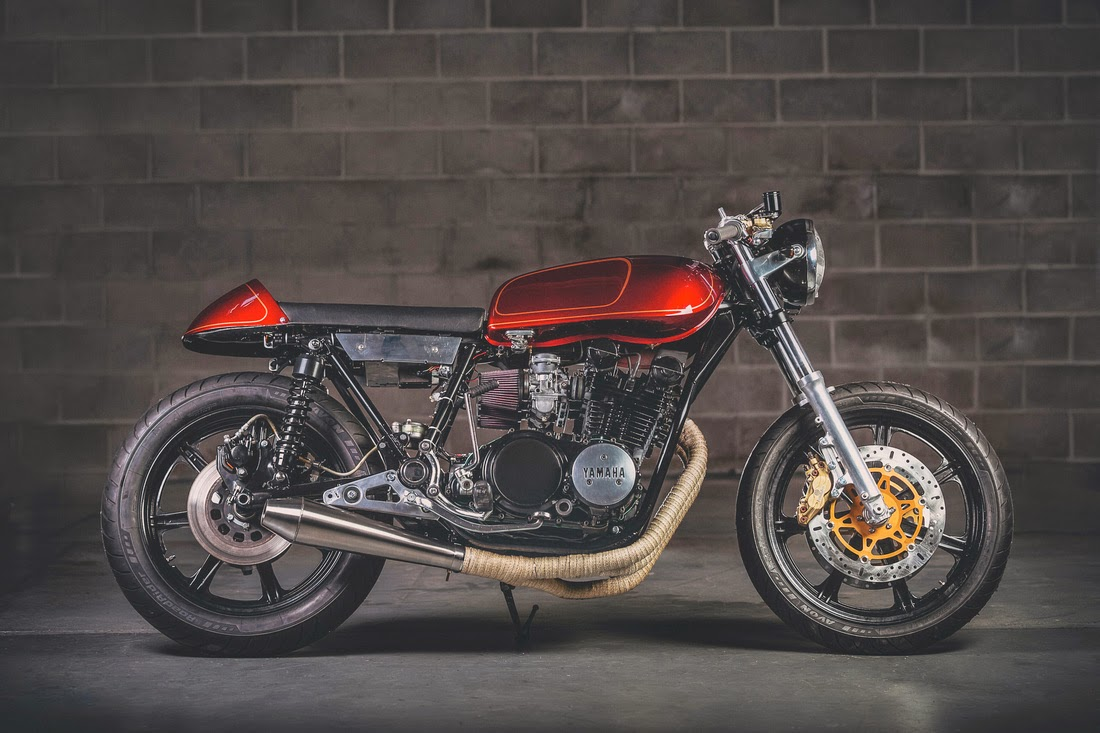 dapper rat xs750 cafe racer ~ return of the cafe racers