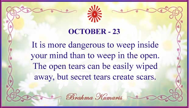 Thought For The Day October 23