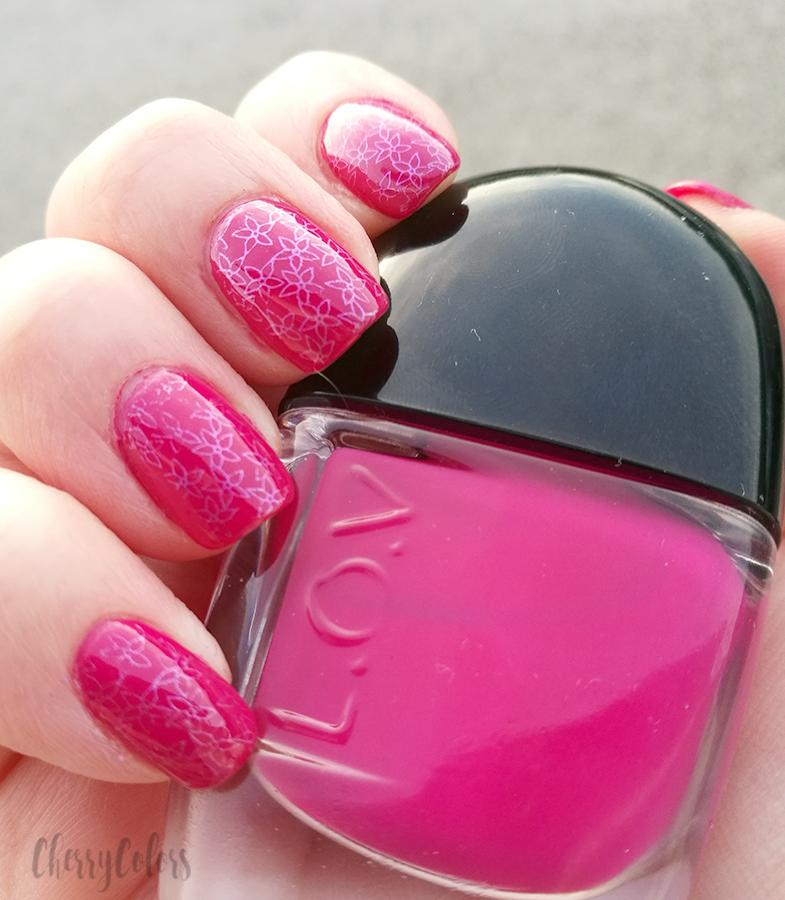 L.O.V. Cosmetics Rich Raspberry Nail Polish