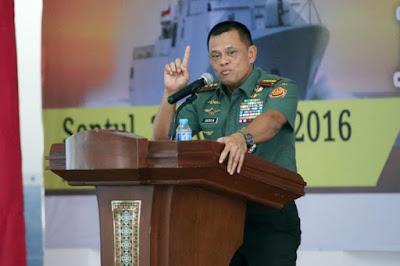 Panglima TNI: Jangan Tembak Pendemo 4 November, Memang Dipikir Rakyat yang Demo Teroris?!