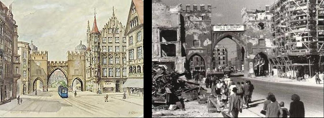 Hitler's painting of Karlstor