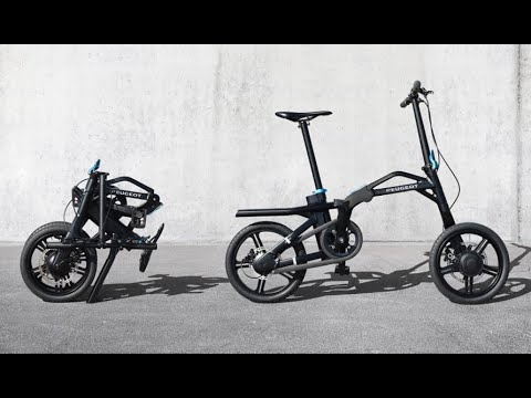 New bike is foldable and electric Peugeot