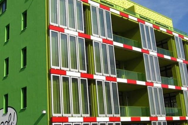 Kατασκευή κτιρίων από φύκια