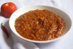 Velvety South Indian Tomato Chutney