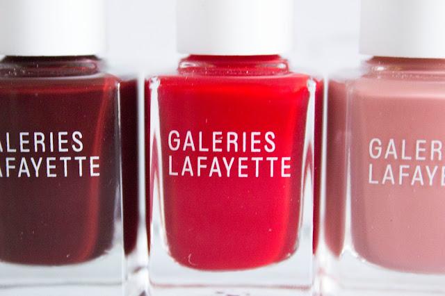 Galeries Lafayette Vernis