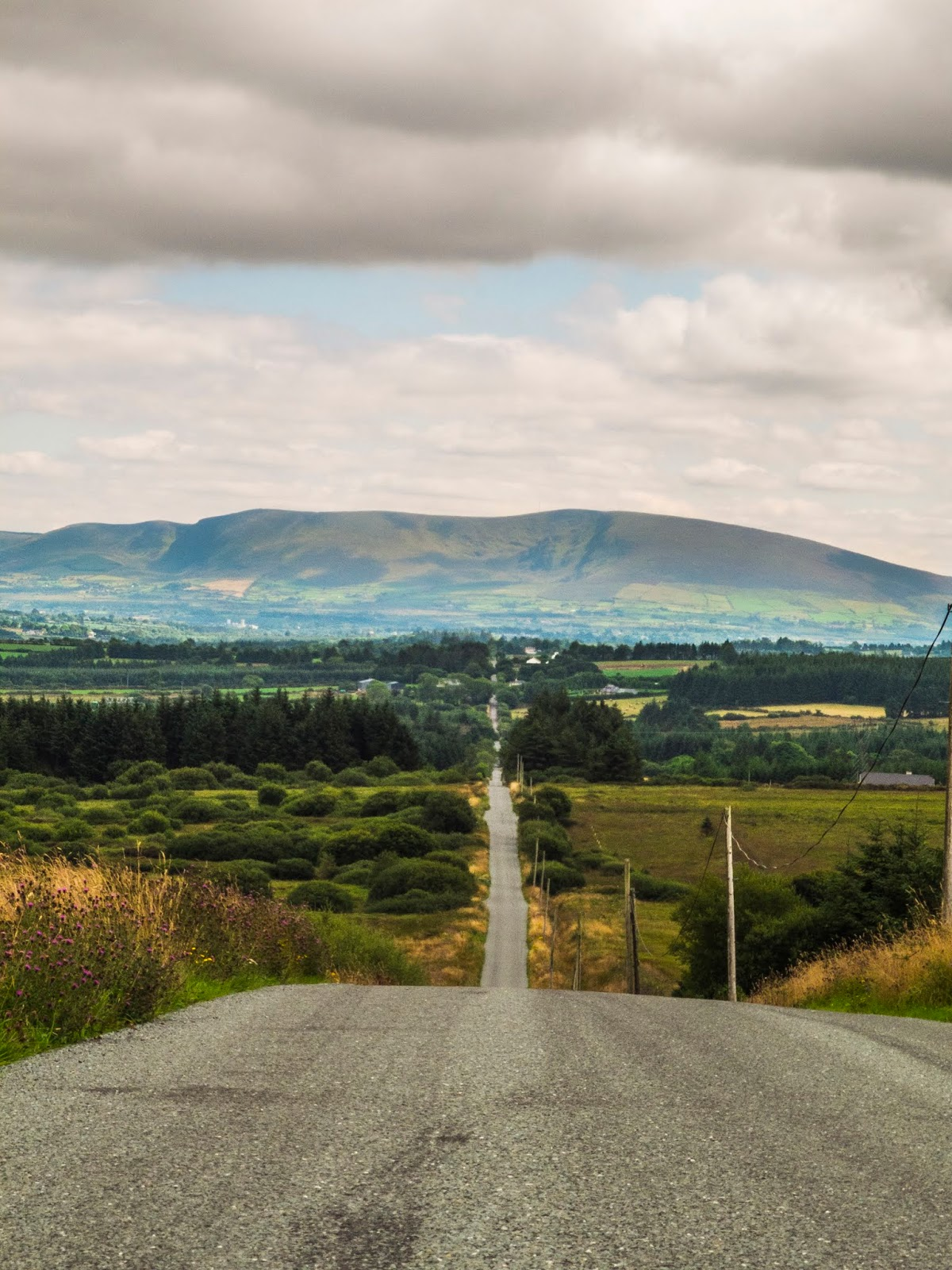 Section of the OId Butter Road from Castleisland in Country Kerry to Cork City.
