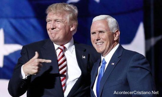 Vicepresidente de Trump es cristiano y conservador