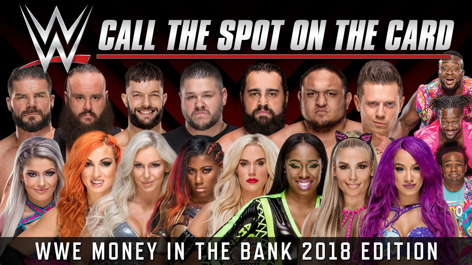 pick the wrestling ranking WWE segment