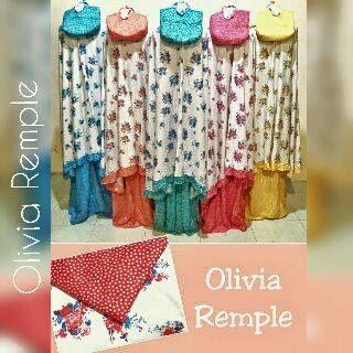 Mukena Bunga Olivia Remple